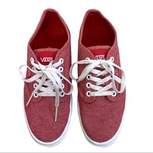 Vans Womens Atwood Lite Chambray Sneakers